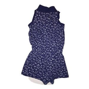 Girls Ralph Lauren Floral Shorts Romper size 24m